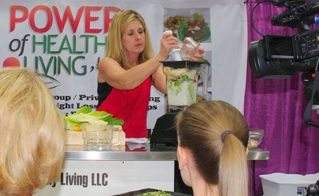 Power of Healthy Living at Women's Expo